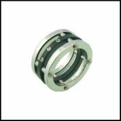 Unisex stål ring