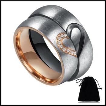 stål ring förlovning
