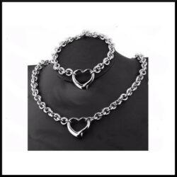 set halsband stål