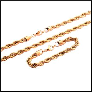 Set halsband och armband