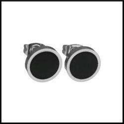 stål örhängen