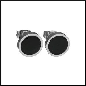 Örhängen Prick 16 mm i stål