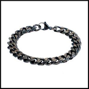 oxiderat stål armband