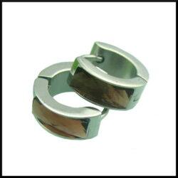 Creol örhängen i stål