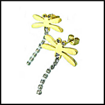 örhängen med sländor
