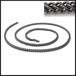 länk oxiderad stål