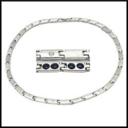 Magnet halsband i stål