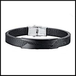 Armband Connie i svart stål