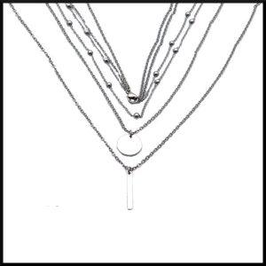 Halsband Thalia i stål