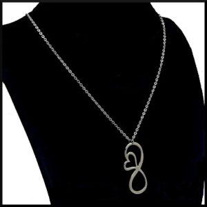 Halsband Infinity i stål