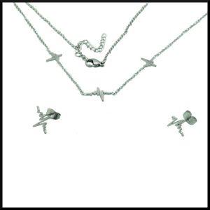 Halsband Cissi i stål