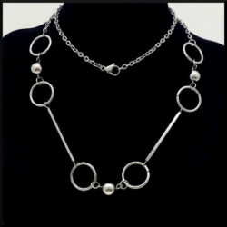 Halsband Viola i stål