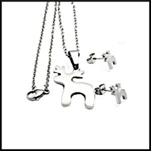 Halsband Hälge i stål