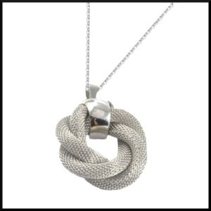Halsband Mesh i stål