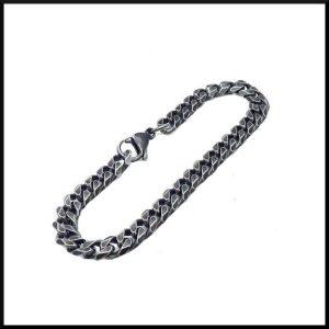 Armband Pansarlänk i stål