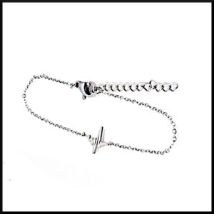 Armband Hjärtrytm i stål