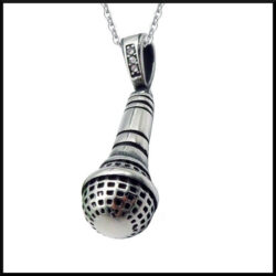 Halsband Mickrofon i stål