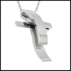 Halsband Ziggy i stål