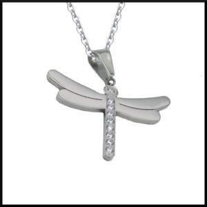 Halsband Anette i stål