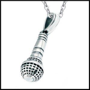 Halsband Mikrofon i stål