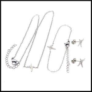 Halsband Cissi Enkel i stål