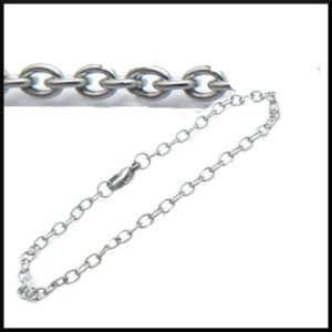 Armband gles ankarlänk i stål