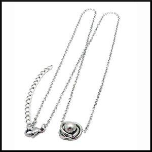Halsband Knop i stål