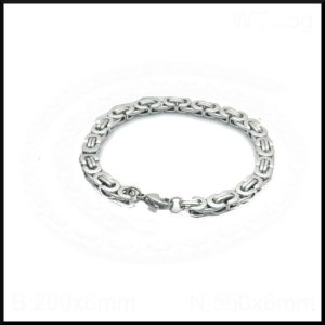 Armband Platt Kejsarlänk