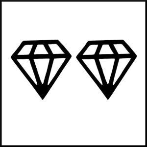 Örhängen Diamant